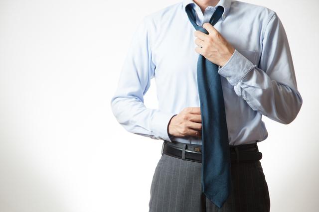 ネクタイとスーツ