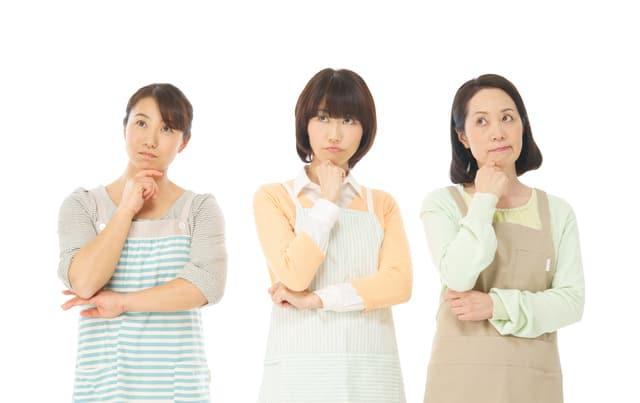 シニア女性3人